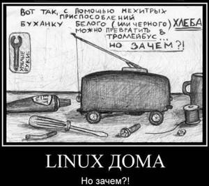 линукс дома
